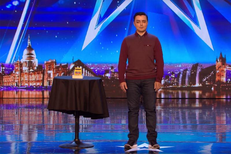 Marc Spelmann Mindreader On Britain S Got Talent Bgt